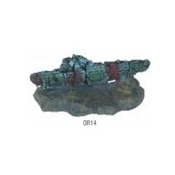 Submarino 10,2x4,5x6cm