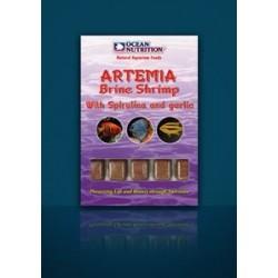 OCEAN NUTRITION ARTEMIA CON SPIRULINA Y AJO 100 GRN