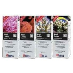 RED SEA REEF CORALS COLORS A+B+C+D (BOTELLAS 100ML)