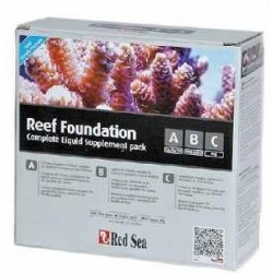 RED SEA REEF FOUNDATION PACK A+B+C 250 ML