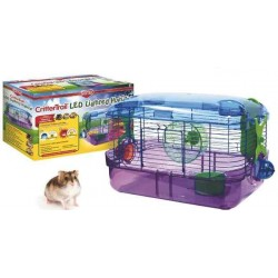 Crittertrail LED lighted habitat