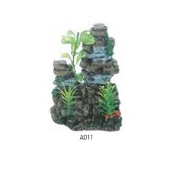 Pared con plantas 10cm